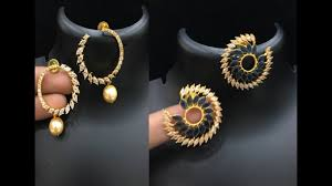beautiful fancy stone earrings collections latest earring design changeable gold qvc jewelry real black diamond for