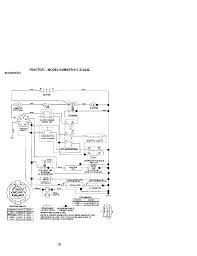 Schematic tractor model number 917 272242