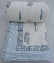 Pinterest • The world's catalog of ideas & Hand Block Print Duble Size Cotton Filling Kantha Quilts Winter Jaipuri  Rajai #Handmade #ArtDecoStyle Adamdwight.com