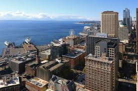Seattle Cityscape Fotoeins Friday Seattle Cityscape From Smith Tower