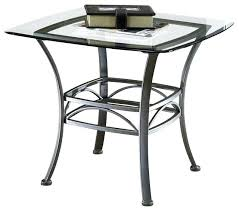 wrought iron end tables square end table wrought iron w glass top contemporary vintage wrought iron wrought iron end tables