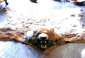 white bear rug white bear rug faux fake skin fur white bear rug white polar bear white bear rug