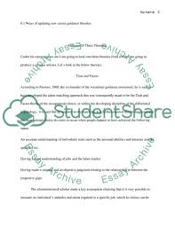 Career Guidance Articles Level 6 Diploma In Career Guidance And Development Essay 1
