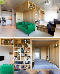 tiny apartment furniture. The Fresh And Artistic Design Of This Tiny Apartment Will Guarantee Comfortable Living Space For More Than One Person \u2013 With Its Light Emanation Furniture H