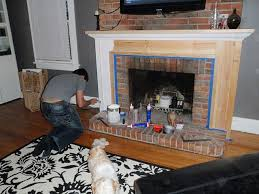 hammers and high heels revisiting our fireplace diy projects building a mantel