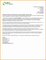 Email Cover Letters And Resume Cover Letter Example Inspirational