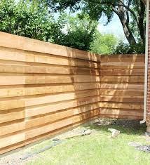 horizontal fences image of modern