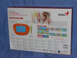 Genius Kids Designer Review Of Genius Kids Designer 5 X 8 Graphic Tablet For