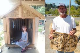 tiny houses for homeless. 9-year-old Girl Builds Tiny Homes From Scratch For The Homeless Houses Y