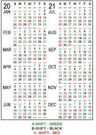 Firefighters Shift Calendar 2020 Iaff Local 21