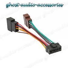 sony 16 pin iso wiring harness connector adaptor car stereo radio sony 16 pin wiring harness diagram image is loading sony 16 pin iso wiring harness connector adaptor