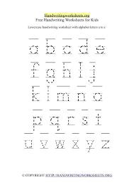 make a Printable Alphabet Letter Tracing Worksheets | ( 26 ...