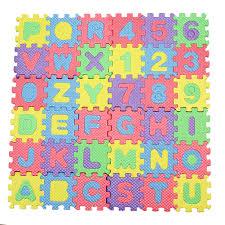 carpet letters. 36pcs/set new a-z letters alphabet numbers soft foam play mat carpet rugs children baby t