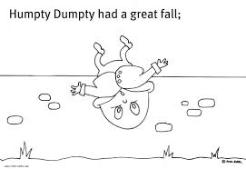 dumpty coloring page with humpty