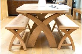 large wood dining table with bench traditional wooden dining table with bench and wooden chair large