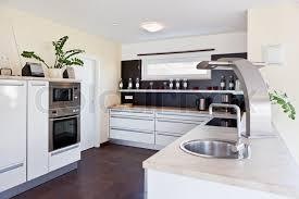 modern house interior. Modern House, Interior Of Kitchen Room, Stock Photo House