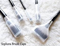 sephora collection pro featherweight brush caps protective case plastic review