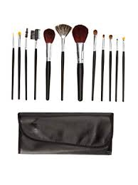 beaute basics 12 piece brush set with case