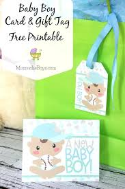 Baby Shower Cards Free Baby Shower Card And Gift Tag Free Printable