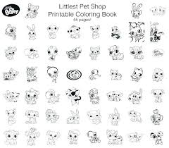 Coloring Pages For Dogs Littlest Pet Shop Coloring Pages Free 8
