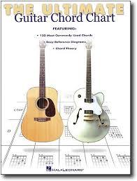 Guitar Chart Hal Leonard Ultimate Guitar Chord Chart Instructional Book