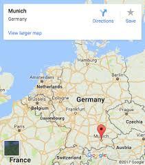 visit google amazing munich. Map: Munich Location Visit Google Amazing
