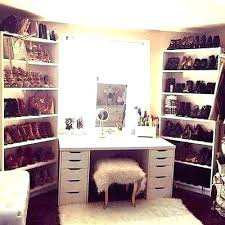 Bedroom Closet Design Ideas Inspiration Makeup Vanity Ideas For Bedroom Room Decor Storage Powder R