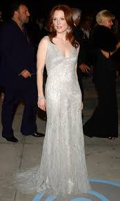 the flame haired beauty turned heads at the 2004 vanity fair oscar party in a