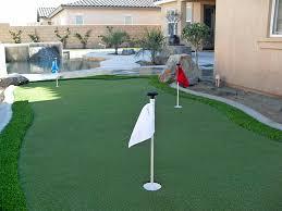 synthetic grass cost lexington texas diy putting green backyard landscaping