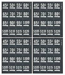 Price Stickers For Vending Machines Enchanting Price Labels 48 Sheets 488 Labels Fits Vendo Dixie Narco Soda