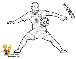 World Cup Soccer Coloring Pages Soccer Players For Alluring Ronaldo