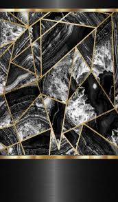Black and gold marble ...