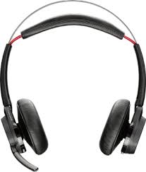 Voyager Focus UC, <b>Stereo Bluetooth headset</b> with Active Noise ...