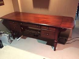 ethan allen desk simple used ethan allen marshall drop leaf desk in franklin
