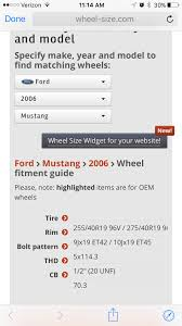 Mustang Bolt Pattern Unique Decoration