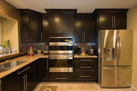 Dark Cabinets Small Kitchen Enchanting Home Kitchens Designs Ideas