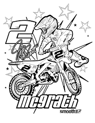 Coloriage De Moto Cross 0 On With Hd Resolution 1275x1650 Pixels