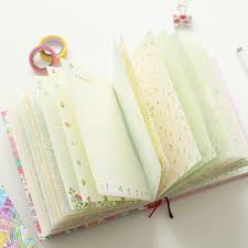 diary pages 2019 beautiful color pages notebook sunny happiness time diary book