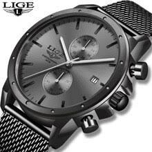 <b>Watch Men</b> 2020 <b>LIGE Mens Watches</b> Top Brand Luxury Fashion ...