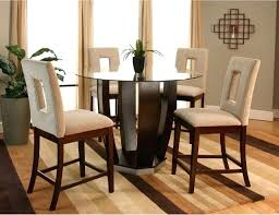 counter height glass table full size of room glass table sets com 5 piece set
