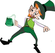 Berusad leprechaun bild | Public domain vektorer