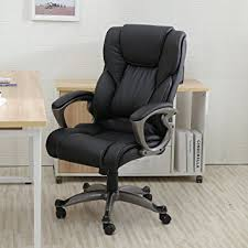 leather office chair. belleze high back executive pu leather office chair, black chair