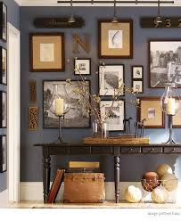 home office dark blue gallery wall. Great Wall Colour As A Base For Gallery Wall. Try Downpipe By Farrow \u0026. Home IdeasHome Office Dark Blue E