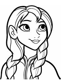 Small Picture Anna Coloring Pages 7 FunyColoring