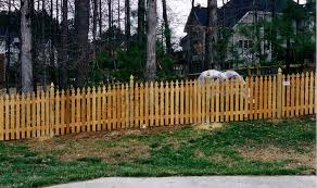 installing a picket fence on uneven ground best idea garden installing a picket fence on uneven ground best idea garden