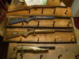 Rifle Coat Rack Gun Coat Racks or Coat Racks with Guns by Hacksaw100 1