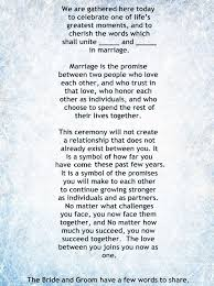 best wedding ceremony readings ideas wedding my non religious short and sweet wedding ceremony script par 1 wedding vows