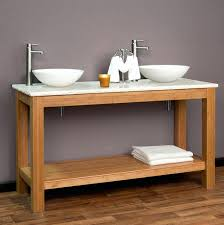console table console table sinks bathroom bamboo double vessel sink vanity uk legs standard metal small