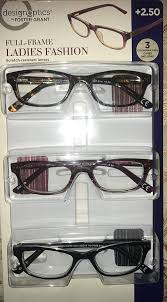 Design Optics Full Frame Flexible Plastic Amazon Com Design Optics Foster Grant Full Frame Ladies