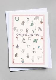 Congratulations On Your New Baby Card New Baby Congratulations Card Blue